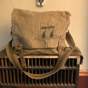 American Eagle outfitters canvas cross body bag